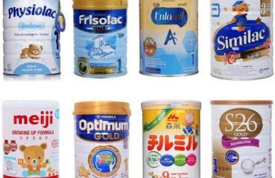 sữa giúp bé tăng cân từ 0 đến 6 tháng
